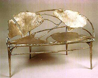 Ginko Banquette or two seater by Claude Lalanne