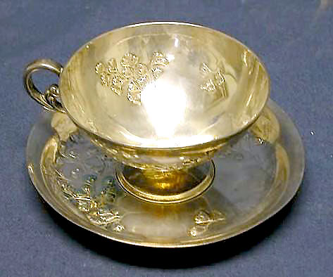 cup and saucer, P. Krider & Co.